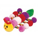 "8"" Caterpillar Plush Toy w/Rope (4 Pack)"