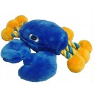 "8"" Crab Plush Toy W/Rope"
