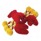 "8"" Lobster Plush Toy W/Rope (4 Pack)"