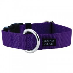 """1.5"""" Wide Solid Colored Side Release Nylon Collars   PrestigeProductsEast.com"""