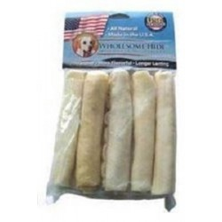 Wholesome Hide™ Mini Rolls 5 Inch - 5 Pack with Header | PrestigeProductsEast.com