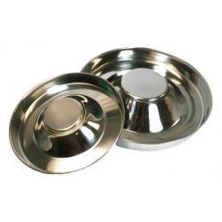 OmniPet Stainless Steel Puppy Feeding Saucer   PrestigeProductsEast.com
