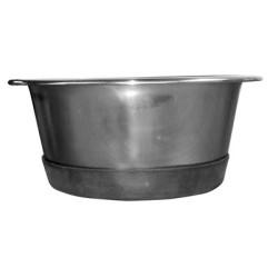 Anti-Skid Standard Stainless Steel Feeding Bowls | PrestigeProductsEast.com