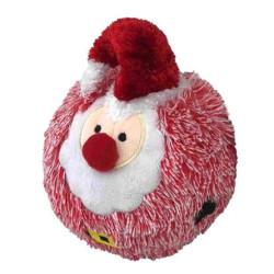Christmas EZ Squeaky Santa Ball - 4 inch   PrestigeProductsEast.com