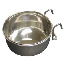 Stainless Steel Coop Cup with Hooks | PrestigeProductsEast.com