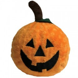 fabdog Pumpkin faball Squeaky Dog Toy | PrestigeProductsEast.com