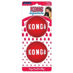 KONG® Signature Ball Toys - 2 Pack | PrestigeProductsEast.com