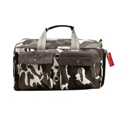 Bark-n-Bag Sauvignon Barc Cotton/Cork Camo Pet Carrier | PrestigeProductsEast.com