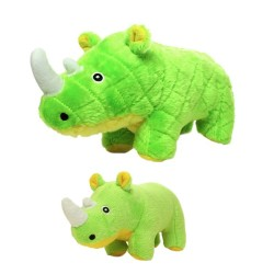 Mighty® Safari - Green Rhinoceros | PrestigeProductsEast.com