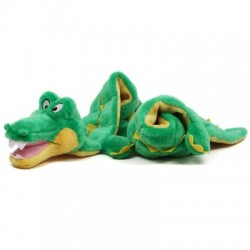 Outward Hound® Long Body Ginormous Squeaker Mat Gator | PrestigeProductsEast.com