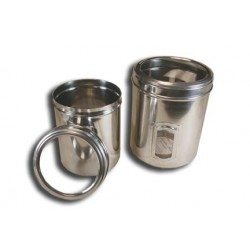 OmniPet Stainless Steel Pet Canisters | PrestigeProductsEast.com