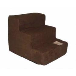 Pet Stairs - Dark Brown Suede | PrestigeProductsEast.com