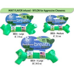 BarkBone Breath Chew Stick with Mint Flavor Dog Chew Toy | PrestigeProductsEast.com
