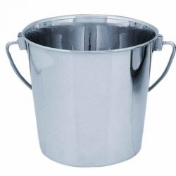 Stainless Steel Round Bucket | PrestigeProductsEast.com