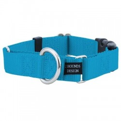 """1.5"""" Wide Solid Colored Buckle Martingale Collars 
