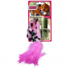 Kong® Refillable Catnip Toy - Feather Mouse