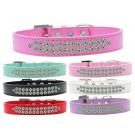 Two Row AB Crystal Dog Collar  | PrestigeProductsEast.com