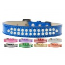 Two Row Pearl Ice Cream Dog Collar | PrestigeProductsEast.com