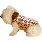 Faux Mink Fur Dog Coat