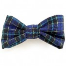 Blue & Black Plaid Bowties | PrestigeProductsEast.com