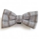 Brown / Grey Plaid Bowties