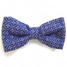 Blue / White Print Bowties | PrestigeProductsEast.com