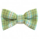 Green / Blue Plaid Bowties | PrestigeProductsEast.com