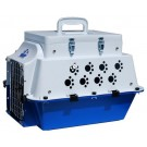 Pet Cooler Carrier - White / Blue