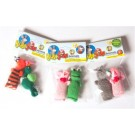 2 Packs of Barn Yard Animal Cat Toys with Header Card  | PrestigeProductsEast.com