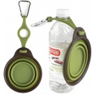 Collapsible Travel Cup w/ Bottle Holder - Small Green