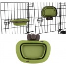 Collapsible Kennel Bowl - Green