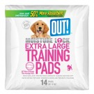 OUT! Moisture Lock X-Large Training Pads - 14 Pads | PrestigeProductsEast.com