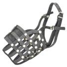 Echo Leather Basket Dog Muzzle