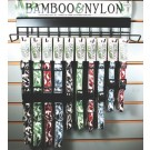 Bamboo & Nylon Collars & Display