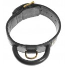 Two-Ply Leather Collar with Handle