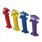 "Multipet Loofa® Latex Dog - 6"" Assorted Colors 