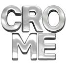 "Chrome Letter Sliding Charms 3/4""   PrestigeProductsEast.com"