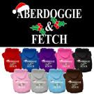 Aberdoggie Christmas Screen Print Pet Hoodie | PrestigeProductsEast.com