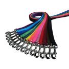 "5/8"" Wide Adjustable Handle Nylon Leashes | PrestigeProductsEast.com"