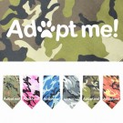 Adopt Me Screen Print Bandana | PrestigeProductsEast.com