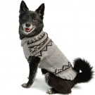 Alpaca Pewter Wyatt Dog Sweater | PrestigeProductsEast.com