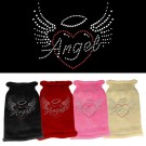Angel Heart Rhinestone Knit Pet Sweater | PrestigeProductsEast.com