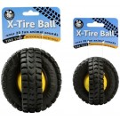 Animal Sounds X-Tire Ball Interactive Dog Toy | PrestigeProductsEast.com