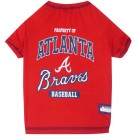 Atlanta Braves Baseball Pet Shirt | PrestigeProductsEast.com