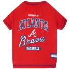 Atlanta Braves Baseball Pet Shirt | PrestigeProductsEast.com