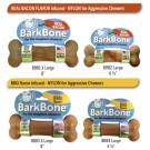 Bacon & BBQ BarkBone Dog Chew Toy | PrestigeProductsEast.com