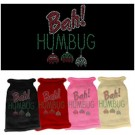 Bah Humbug Rhinestone Knit Pet Sweater | PrestigeProductsEast.com