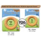 BarkBone Chew Ring with Peanut Butter Dog Chew | PrestigeProductsEast.com