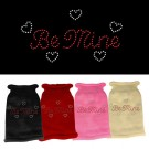 Be Mine Rhinestone Knit Pet Sweater | PrestigeProductsEast.com