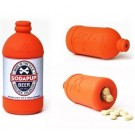 Beer Bottle Treat Dispenser - Large - Orange Squeeze | PrestigeProductsEast.com